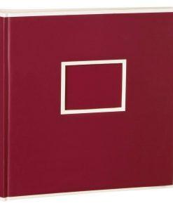 Jumbo Photo Album, size 30x30cm, photo mounting board, glassine paper, burgundy | 4250053691748 | 351097
