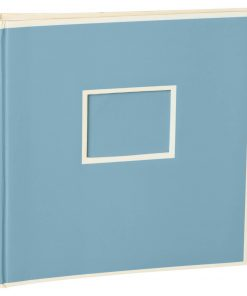 Jumbo Photo Album, size 30x30cm, photo mounting board, glassine paper, ciel | 4250053691519 | 351101