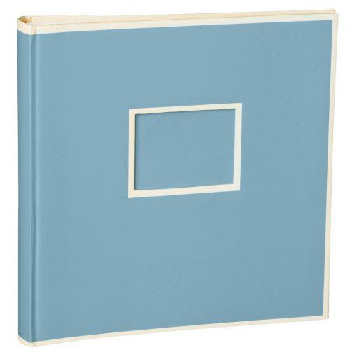 Jumbo Photo Album, size 30x30cm, photo mounting board, glassine paper, ciel   4250053691519   351101