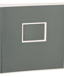 Jumbo Photo Album, size 30x30cm, photo mounting board, glassine paper, grey | 4250053691557 | 351104