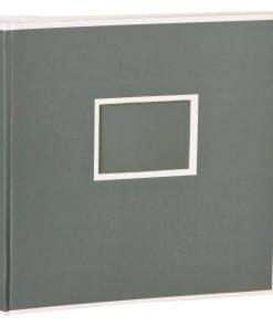 Jumbo Photo Album, size 30x30cm, photo mounting board, glassine paper, grey | 4250053691557 | 351104