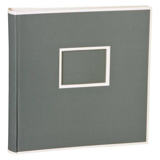 Jumbo Photo Album, size 30x30cm, photo mounting board, glassine paper, grey   4250053691557   351104