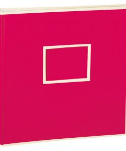 Jumbo Photo Album, size 30x30cm, photo mounting board, glassine paper, pink | 4250053691489 | 351098