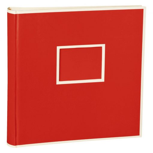 Jumbo Photo Album, size 30x30cm, photo mounting board, glassine paper, red | 4250053691731 | 351096