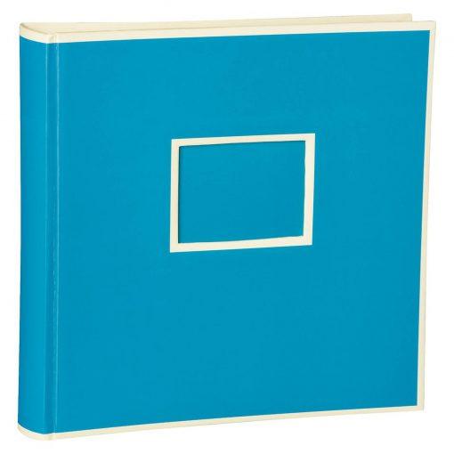 Jumbo Photo Album, size 30x30cm, photo mounting board, glassine paper, turquoise | 4250053696880 | 351108