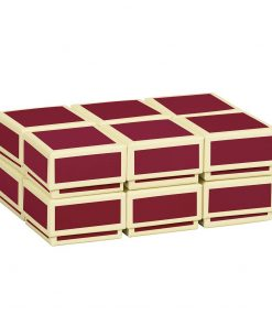 Little Gift Boxes (Set of 12), burgundy | 4250053640821 | 352023