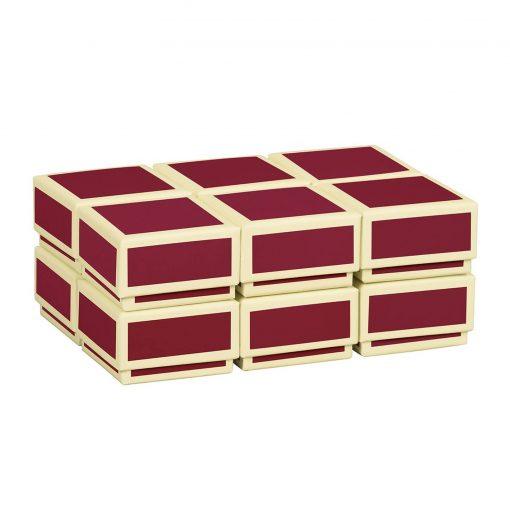 Little Gift Boxes (Set of 12), burgundy | 4250053640821 | 352023
