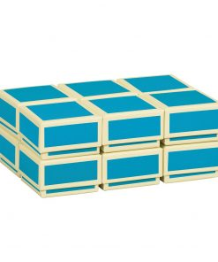 Little Gift Boxes (Set of 12), turquoise   4250053696866   352044