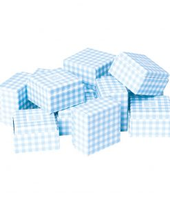 Little Gift Boxes (Set of 12) Vichy Blue | 4250053692677 | 352048