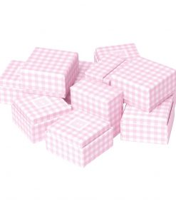 Little Gift Boxes (Set of 12) Vichy Pink | 4250053692660 | 352046