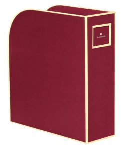 Magazine Box (A4) and letter size, burgundy | 4250053642801 | 352734