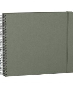 Maxi Mucho Album Black, 90 black pages, booklinen cover, grey | 4250053672334 | 352971