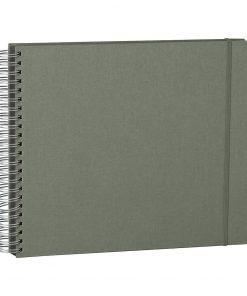 Maxi Mucho Album Black, 90 black pages, booklinen cover, grey | 4250053672334 | 352971