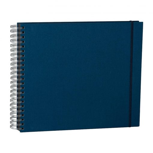Maxi Mucho Album Black, 90 black pages, booklinen cover, marine   4250053672228   352961