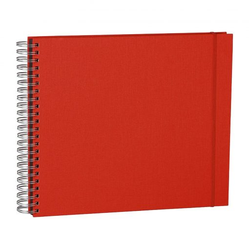 Maxi Mucho Album Black, 90 black pages, booklinen cover, red   4250053672235   352962