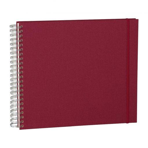 Maxi Mucho Album Cream, 90 cream white pages, book linen cover, burgundy   4250540900674   352996