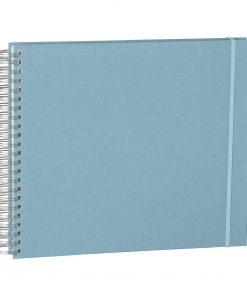 Maxi Mucho Album Cream, 90 cream white pages, book linen cover, ciel | 4250540900704 | 353000