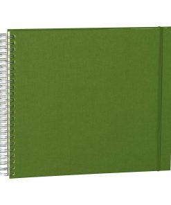 Maxi Mucho Album Cream, 90 cream white pages, book linen cover, irish | 4250540923284 | 352999