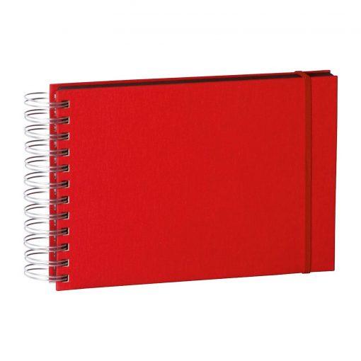 Mini Mucho Album Black, 90 black pages, booklinen cover, red | 4250053672433 | 352979