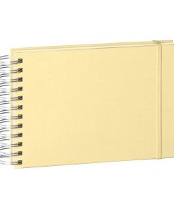 Mini Mucho Album Cream, 90 cream white pages, book linen cover, chamois | 4250540900933 | 353024
