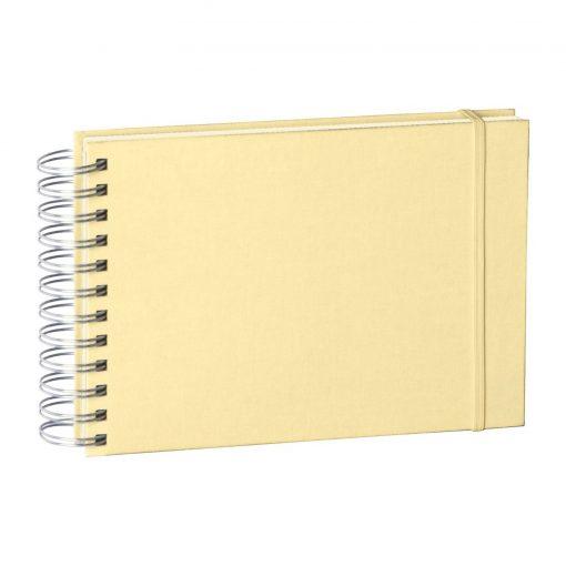 Mini Mucho Album Cream, 90 cream white pages, book linen cover, chamois | 4250540900933 | 353024