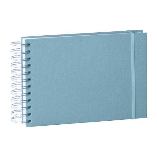 Mini Mucho Album Cream, 90 cream white pages, book linen cover, ciel | 4250540900872 | 353018
