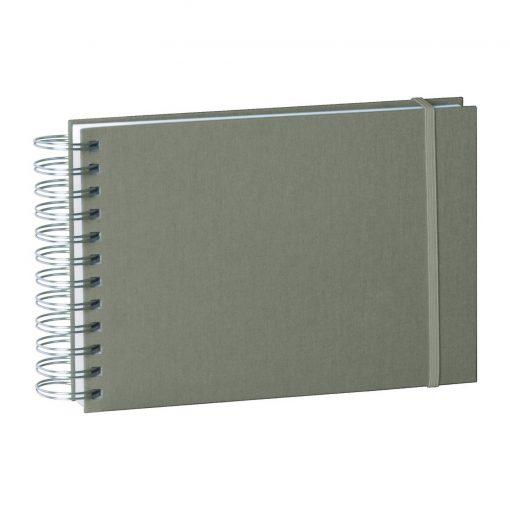 Mini Mucho Album Cream, 90 cream white pages, book linen cover, grey   4250540900919   353022