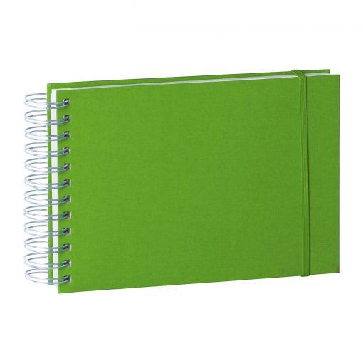 Mini Mucho Album Cream, 90 cream white pages, book linen cover, lime | 4250540900896 | 353020