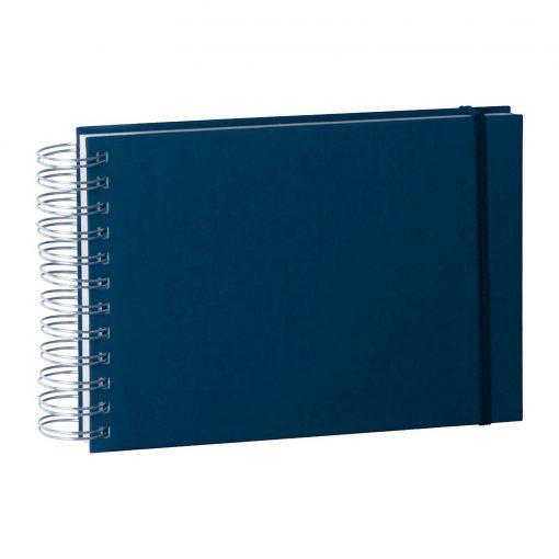 Mini Mucho Album Cream, 90 cream white pages, book linen cover, marine | 4250540900827 | 353012