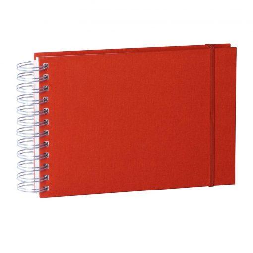 Mini Mucho Album Cream, 90 cream white pages, book linen cover, red   4250540900834   353013