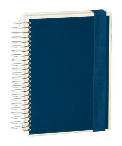 Mucho (A5) spiral-bound notebook, 330 pages, 3 different rulings, marine | 4250053636916 | 351553