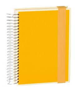 Mucho (A5) spiral-bound notebook, 330 pages, 3 different rulings, sun | 4250053636909 | 351552