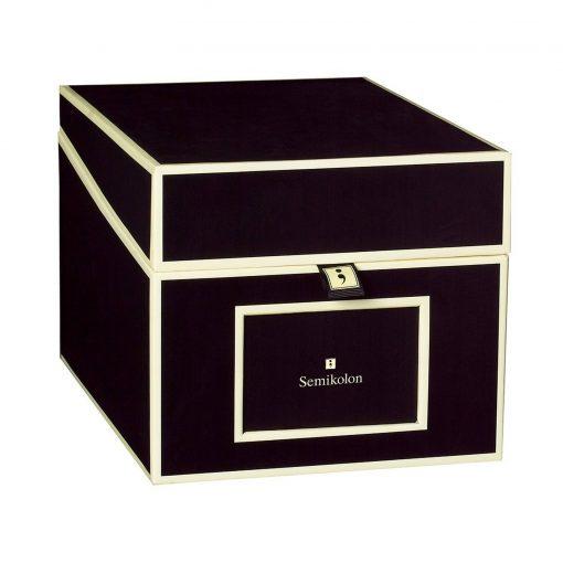 Multimedia Box with 5 adjustable tabs, black | 4250053692769 | 352546