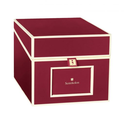 Multimedia Box with 5 adjustable tabs, burgundy | 4250053692745 | 352544