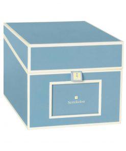 Multimedia Box with 5 adjustable tabs, ciel | 4250053692783 | 352548