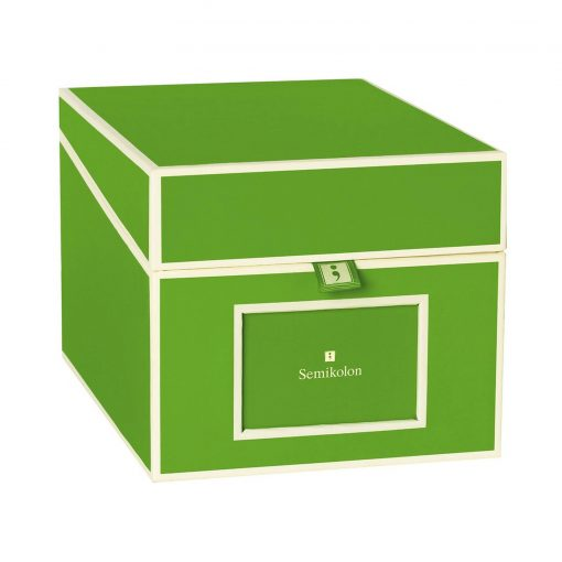 Multimedia Box with 5 adjustable tabs, lime | 4250053692806 | 352557