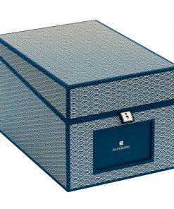 Multimedia Box with 5 adjustable tabs, marine | 4250540927893 | 354864
