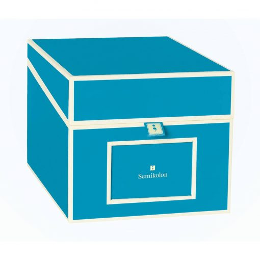 Multimedia Box with 5 adjustable tabs, turquoise | 4250053696828 | 352562