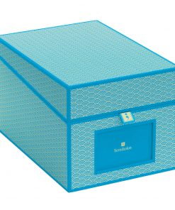 Multimedia Box with 5 adjustable tabs, turquoise | 4250540927916 | 354866