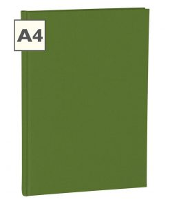 Notebook Classic (A4) book linen cover, 160 pages, plain, irish | 4250053613771 | 351237