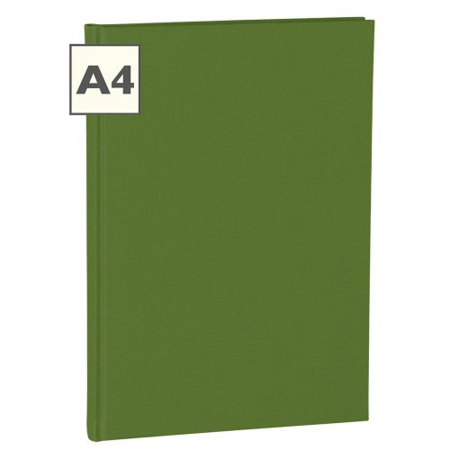 Notebook Classic (A4) book linen cover, 160 pages, plain, irish   4250053613771   351237