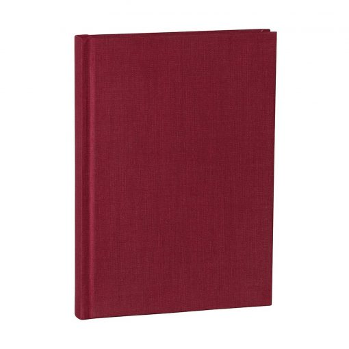 Notebook Classic (A5) dotted, book linen cover, 144 pages, burgundy   4004117517679   356166