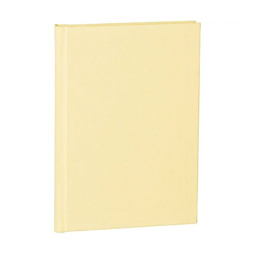 Notebook Classic (A5) dotted, book linen cover, 144 pages, chamois | 4004117517747 | 356173