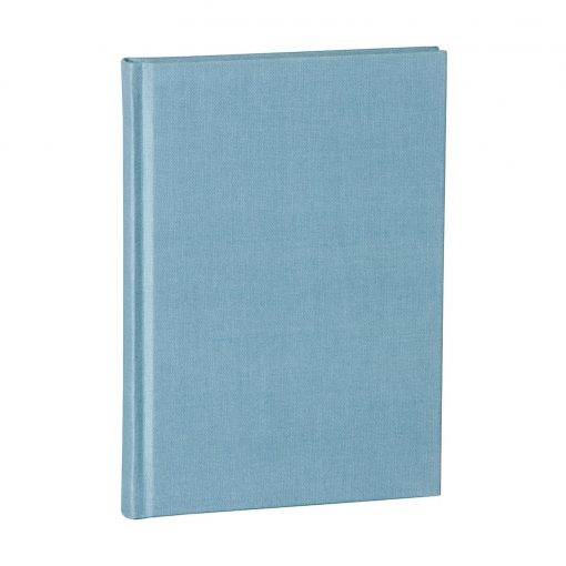 Notebook Classic (A5) dotted, book linen cover, 144 pages, ciel | 4004117517716 | 356170