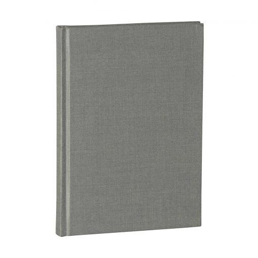 Notebook Classic (A5) dotted, book linen cover, 144 pages, grey | 4004117517730 | 356172