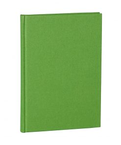 Notebook Classic (A5) dotted, book linen cover, 144 pages, lime | 4004117517723 | 356171