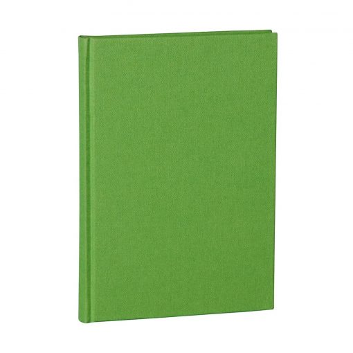 Notebook Classic (A5) dotted, book linen cover, 144 pages, lime   4004117517723   356171