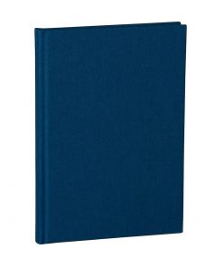 Notebook Classic (A5) dotted, book linen cover, 144 pages, marine | 4004117517655 | 356164