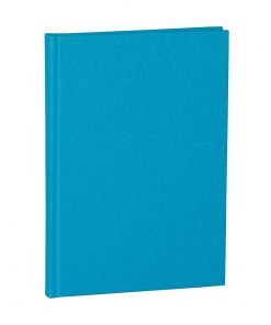 Notebook Classic (A5) dotted, book linen cover, 144 pages, turquoise | 4004117517761 | 356175