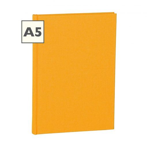 Notebook Classic (A5) ruled, book linen cover, 160 pages, sun | 4250053600634 | 350903